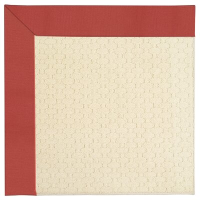 Zoe Light Beige Indoor/Outdoor Area Rug Rug Size: Rectangle 7' x 9'