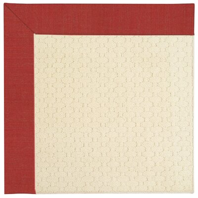 Zoe Cream Indoor/Outdoor Area Rug Rug Size: Square 4'