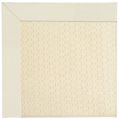 Zoe Alabaster Indoor/Outdoor Area Rug Rug Size: Square 6