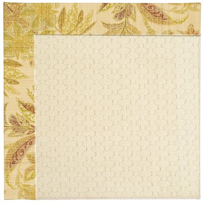 Zoe Light Beige Indoor/Outdoor Area Rug Rug Size: Square 10