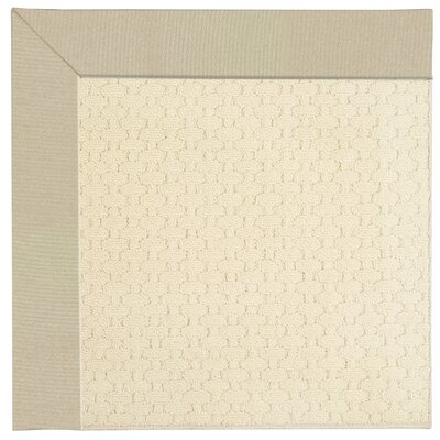 Zoe Light beige Indoor/Outdoor Area Rug Rug Size: Square 4