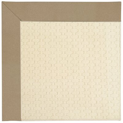Zoe Beige Indoor/Outdoor Area Rug Rug Size: 7 x 9