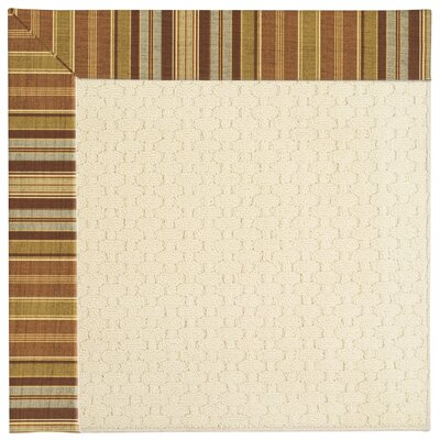 Zoe Beige Indoor/Outdoor Area Rug Rug Size: Rectangle 12' x 15'