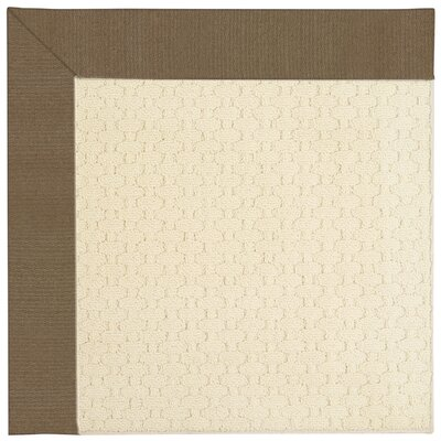 Zoe Light Beige Indoor/Outdoor Area Rug Rug Size: Square 6'