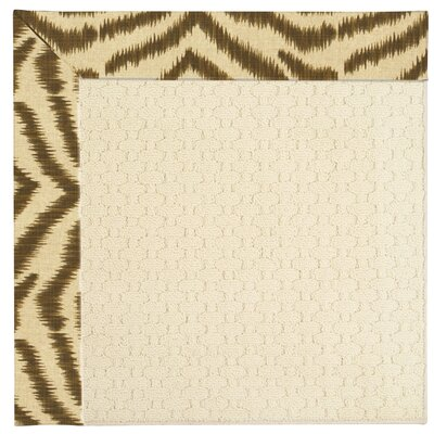 Zoe Cream Indoor/Outdoor Area Rug Rug Size: Rectangle 2 x 3