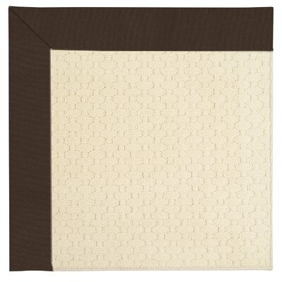 Zoe Off White Indoor/Outdoor Area Rug Rug Size: Square 8'