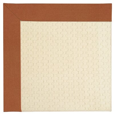Zoe Light Beige Indoor/Outdoor Area Rug Rug Size: Square 10'