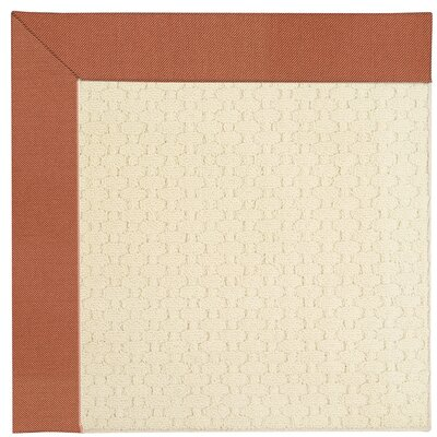 Zoe Off White Indoor/Outdoor Area Rug Rug Size: Rectangle 7 x 9