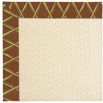 Zoe Off White Indoor/Outdoor Area Rug Rug Size: 2' x 3'