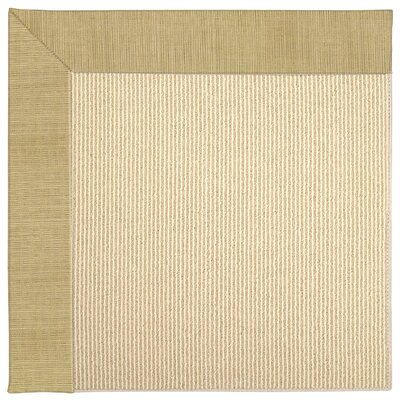 Zoe Machine Tufted Bramble/Beige Indoor/Outdoor Area Rug Rug Size: Square 6