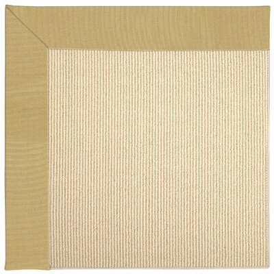 Zoe Machine Tufted Wheatfield/Beige Indoor/Outdoor Area Rug Rug Size: Square 8