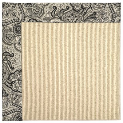 Zoe Machine Tufted  Black Orchid and Beige Indoor/Outdoor Area Rugs