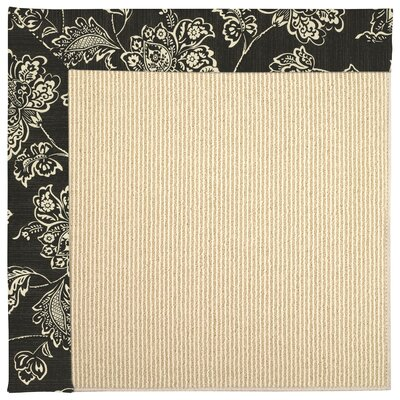 Inspirit Machine Tufted Persimmon Area Rug Rug Size: 5 x 8