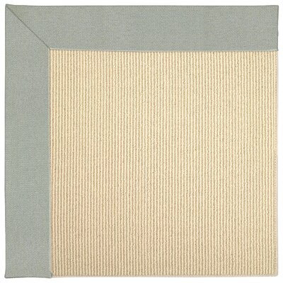 Zoe Machine Tufted Marine Blue Indoor/Outdoor Area Rug Rug Size: Square 4