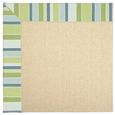 Zoe Bay Breeze Beige Indoor/Outdoor Area Rug