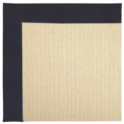 Zoe Machine Tufted Dark Navy Indoor/Outdoor Area Rug Rug Size: Square 10