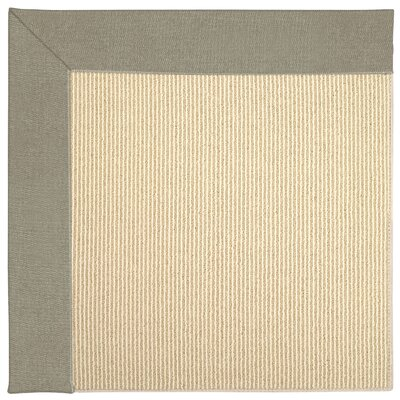 Zoe Machine Tufted Buff Indoor/Outdoor Area Rug Rug Size: Square 10