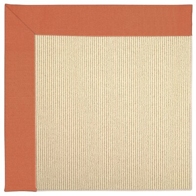 Zoe Machine Tufted Sorrel Indoor/Outdoor Area Rug Rug Size: 2 x 3