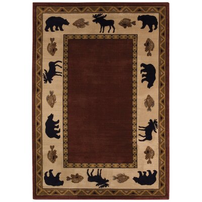 Cabin Retreat Novelty Rug Rug Size: 710 x 1010