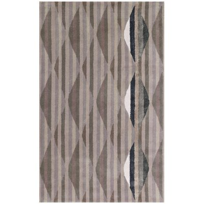 Tanzania Cream Trellis Area Rug Rug Size: Rectangle 5 x 8