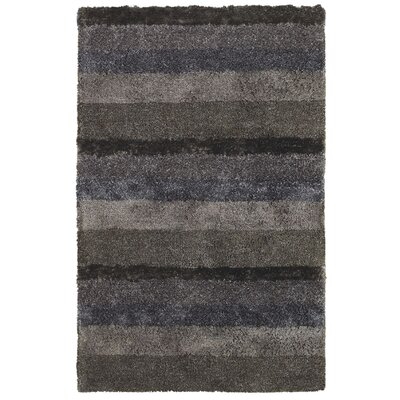 City View Smoke Area Rug Rug Size: Rectangle 7 x 9