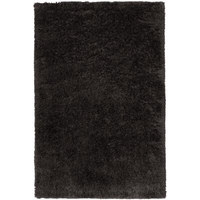 Trolley Line Coal Area Rug Rug Size: 5 x 8