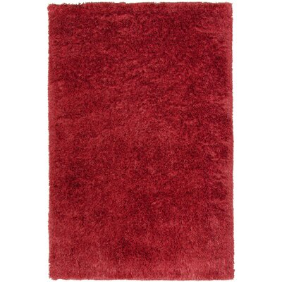 Trolley Line Hot Pepper Area Rug Rug Size: 3 x 5