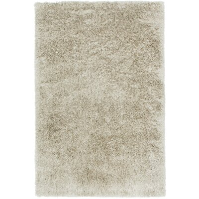 Trolley Line Ivory Area Rug Rug Size: Rectangle 3' x 5'