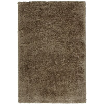 Trolley Line Tan Area Rug Rug Size: 7 x 9