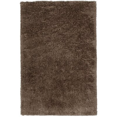 Trolley Line Coffee Area Rug Rug Size: 5 x 8