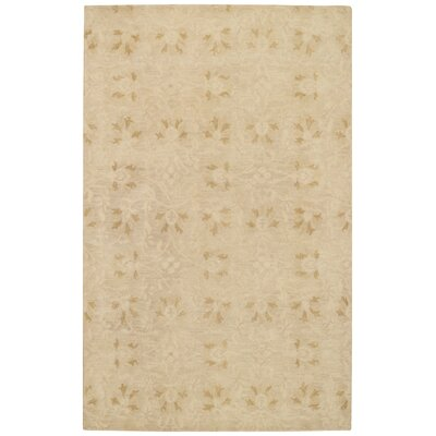 Rosana Amber Floral Area Rug Rug Size: Rectangle 4 x 6