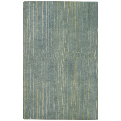 Fingerling China Blue Area Rug Rug Size: 5 x 8