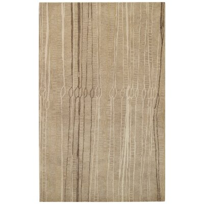 Fingerling Cane Pole Beige Area Rug Rug Size: 5 x 8