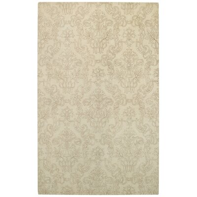 Flower Garden Beige Area Rug Rug Size: Rectangle 8 x 10