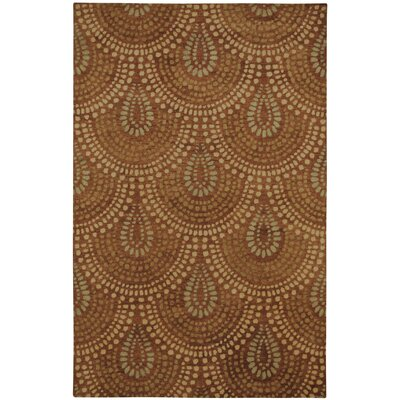 Myles Cinnamon Area Rug Rug Size: Rectangle 5 x 8