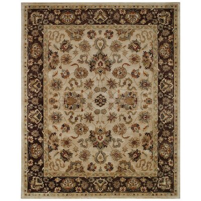 Piedmont Persian Beige Area Rug Rug Size: Rectangle 5 x 8