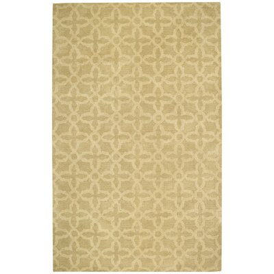 Albemarle Cream Gate Trellis Area Rug Rug Size: Rectangle 5' x 8'