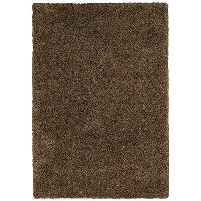 Mellow Cocoa Bean Peppery Rug