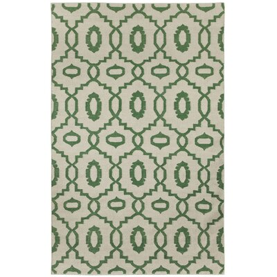 Anchor Dark Green Area Rug Rug Size: Rectangle 3 x 5