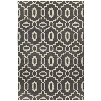 Anchor Smoke Grey Area Rug Rug Size: 8 x 11