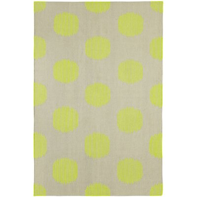 Spots Green Area Rug Rug Size: Rectangle 5 x 8