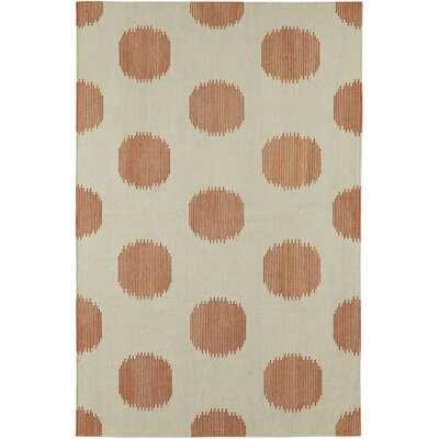 Spots Cinnamon Area Rug Rug Size: Rectangle 5 x 8