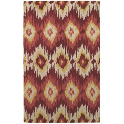 Rally Cinnamon Area Rug Rug Size: Rectangle 5 x 8