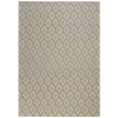 Udorn Diamond Tan Indoor/Outdoor Area Rug Rug Size: 311 x 56