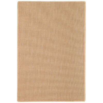 Ridge Creek Tan Indoor/Outdoor Area Rug Rug Size: 5'3 x 7'6