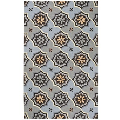 Intrique Blue Medallion Rug Rug Size: 5 x 8