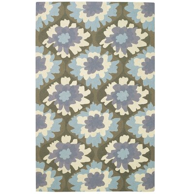 Intrique Bloom Rug Rug Size: 5 x 8