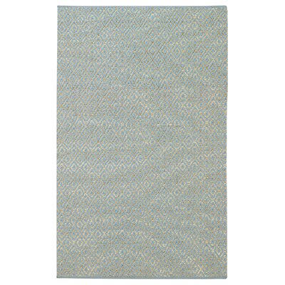 Blocher Blue Area Rug Rug Size: 2 x 3