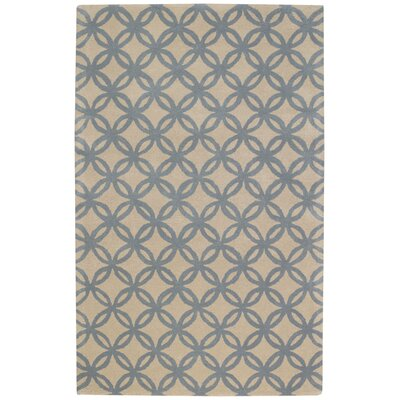 Derry Blue Sky Optic Trellis Rug Rug Size: 8 x 11