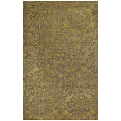Lace Green Area Rug Rug Size: Rectangle 5' x 8'
